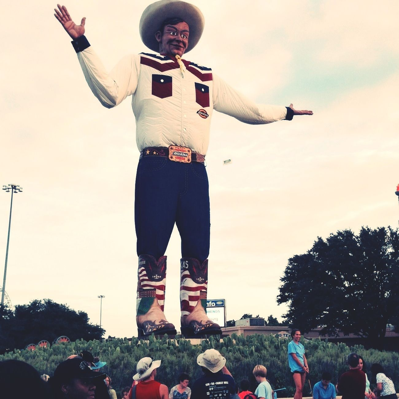 Big Tex is back! Enjoying Life Texas