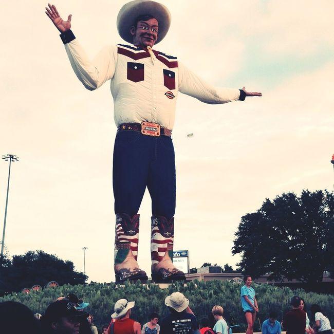 Big Tex is back! Enjoying Life Texas