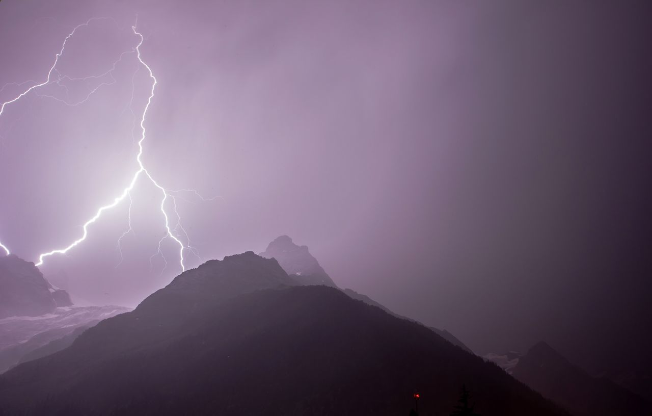 Beautiful stock photos of lightning, Beauty In Nature, Horizontal, Landscape, Lightning