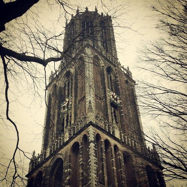 Utrecht Netherlands Home Overcastsky GreyDay Dom Tower