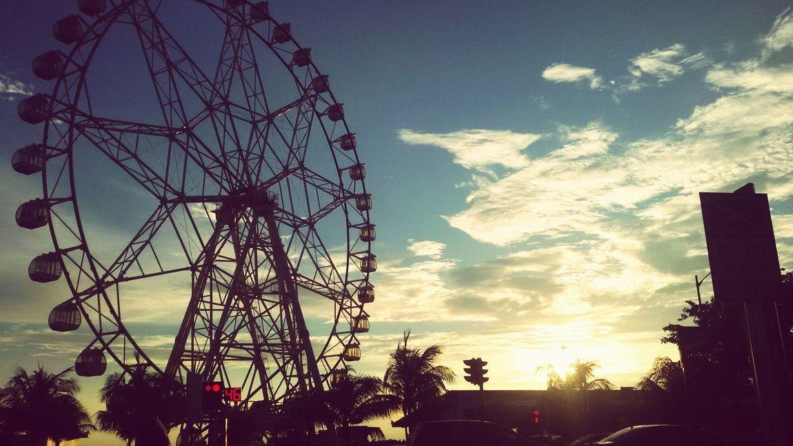 Sunset... Eyeemworld EyeemPhilippines Ferrys Wheel Game Havingfun EyeEm Nature Lover Manila Bay  EyeEm Best Shots EyeEm Gallery