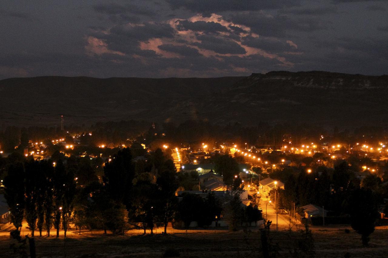 City Nightphotography Stom Architecture Cloud - Sky Illuminated Landscape Mountain Nature Night Outdoors Sky Street Lights Sunset Town Tree