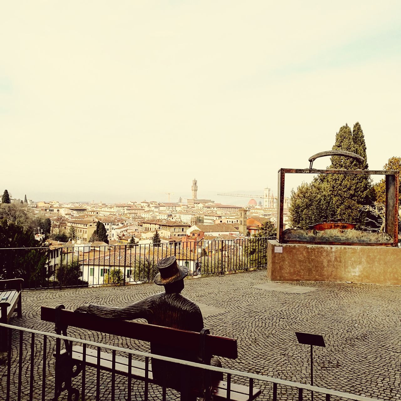 Cityscape Sky Outdoors Tree EyeEmNewHere EmEyeNewPhoto Florence Italy Landscape Folon Wonderful
