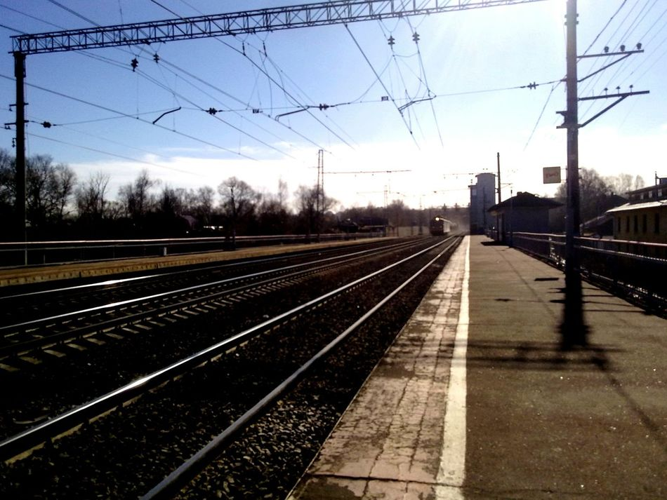Urban 4 Filter Yaroslavl Industrial Landscapes Railway Rail Urban Geometry