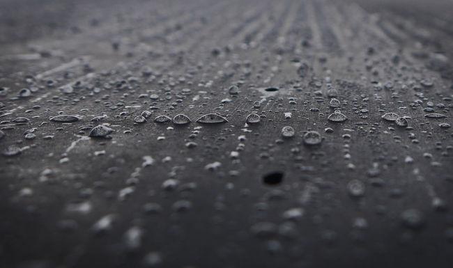Beauty In Nature Close-up Raindrops Season  Selective Focus Water Water On Granite