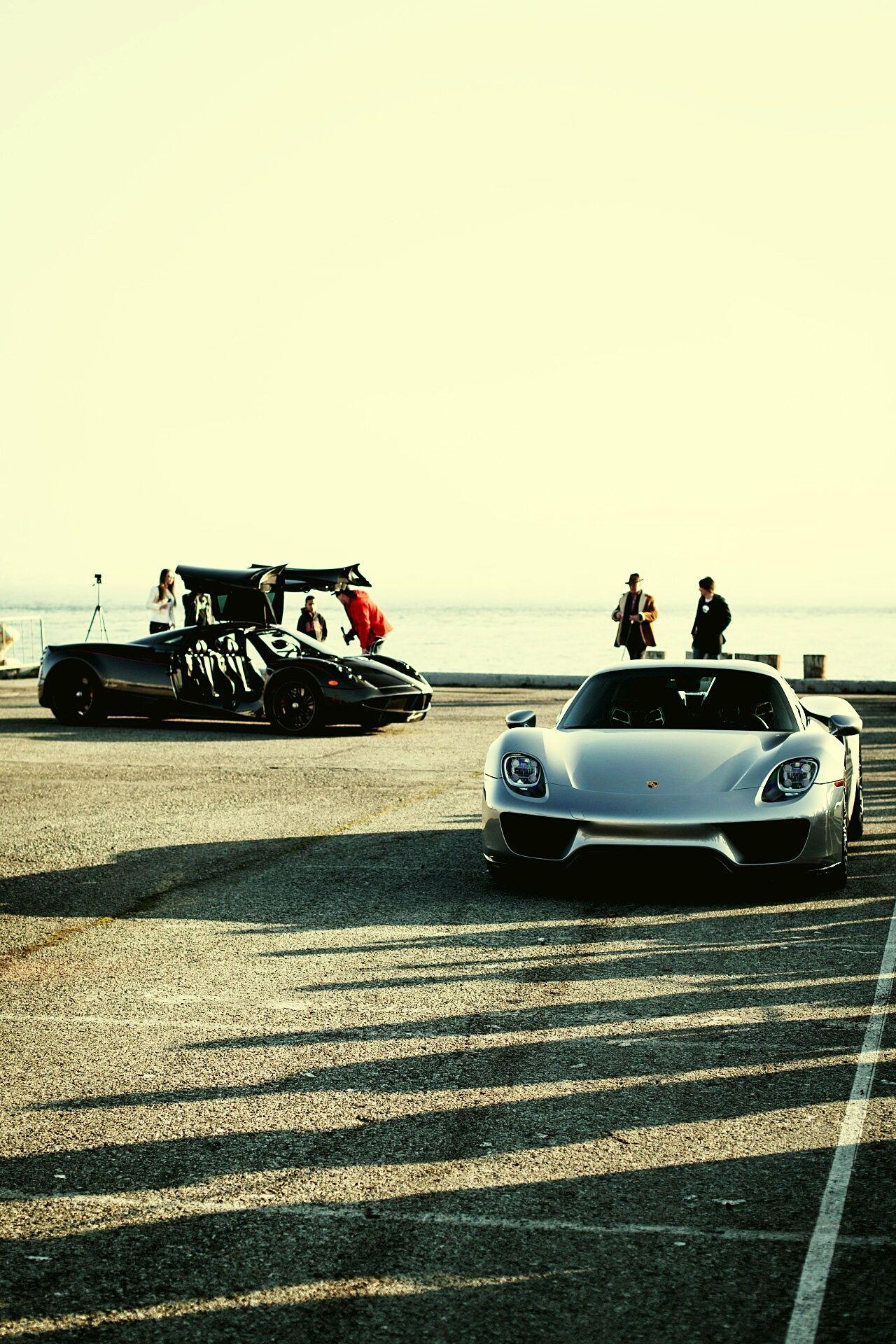 Harbor Luxury Car Porsche918 Pagani Huayra