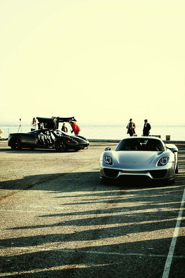 Harbor Luxury Car Porsche918 Pagani Huayra
