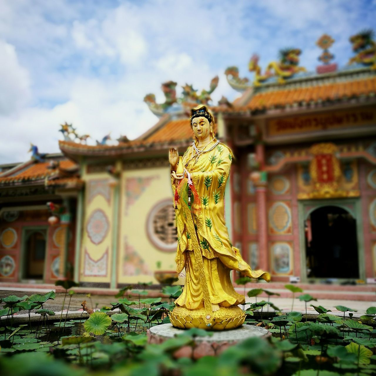 Goddess Goddessofmeecy Goddess Of Mercy Chinese Temple Chinese Architecture Temple Temple - Building Templephotography Temple Architecture Peaceful Peaceful View Peaceful Place