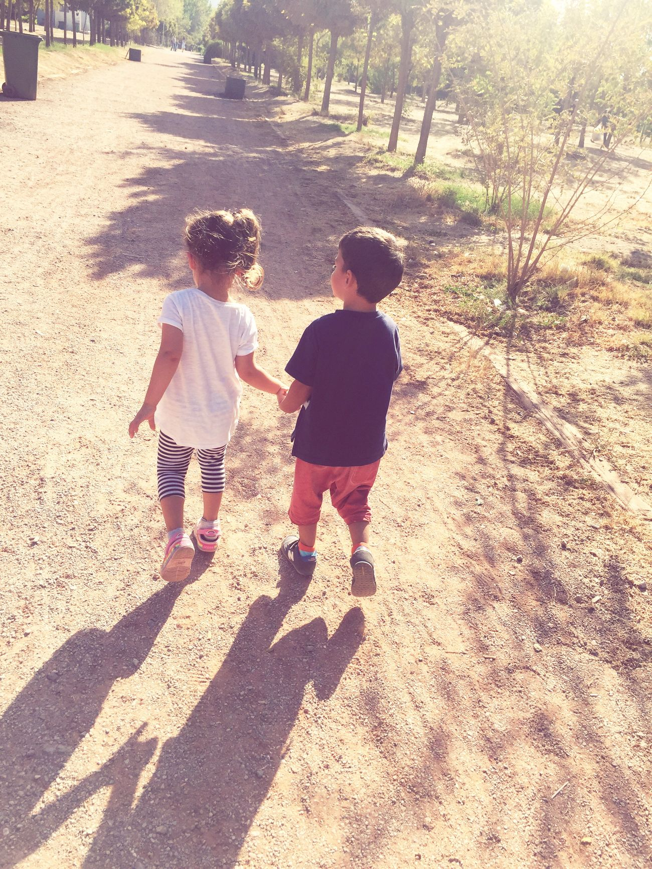 Masumiyet... Innocence Children Love Shadow Childhood Togetherness Sunlight First Eyeem Photo