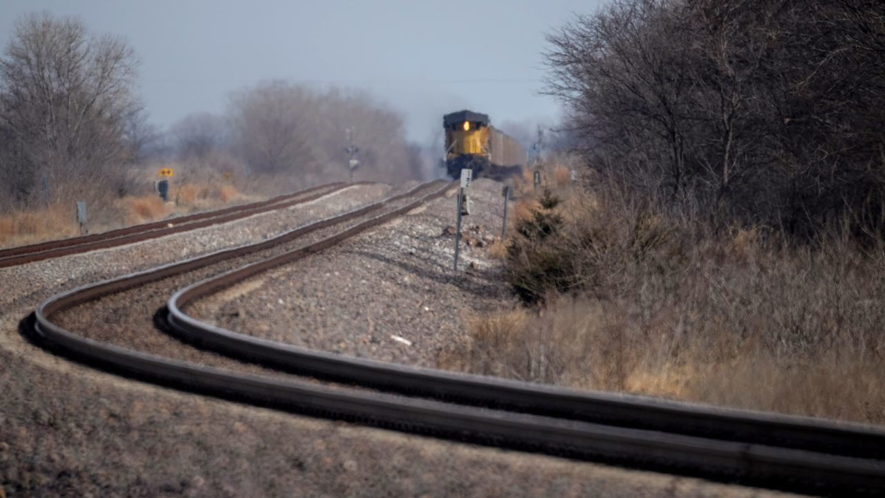 Visual Journal February 2017 Thayer County, Nebraska America Approaching Country Living EyeEm Best Shots EyeEm Gallery Focus On Foreground Freight Train Fujifilm_xseries Getty Images Landscape Leading Lines Manual Focus MidWest Nebraska Nikkor 500mm F8 Outdoors Photo Diary Railroad Railroad Track Railroad Tracks Rural America Rural Landscape Small Town Stories Speed Visual Journal