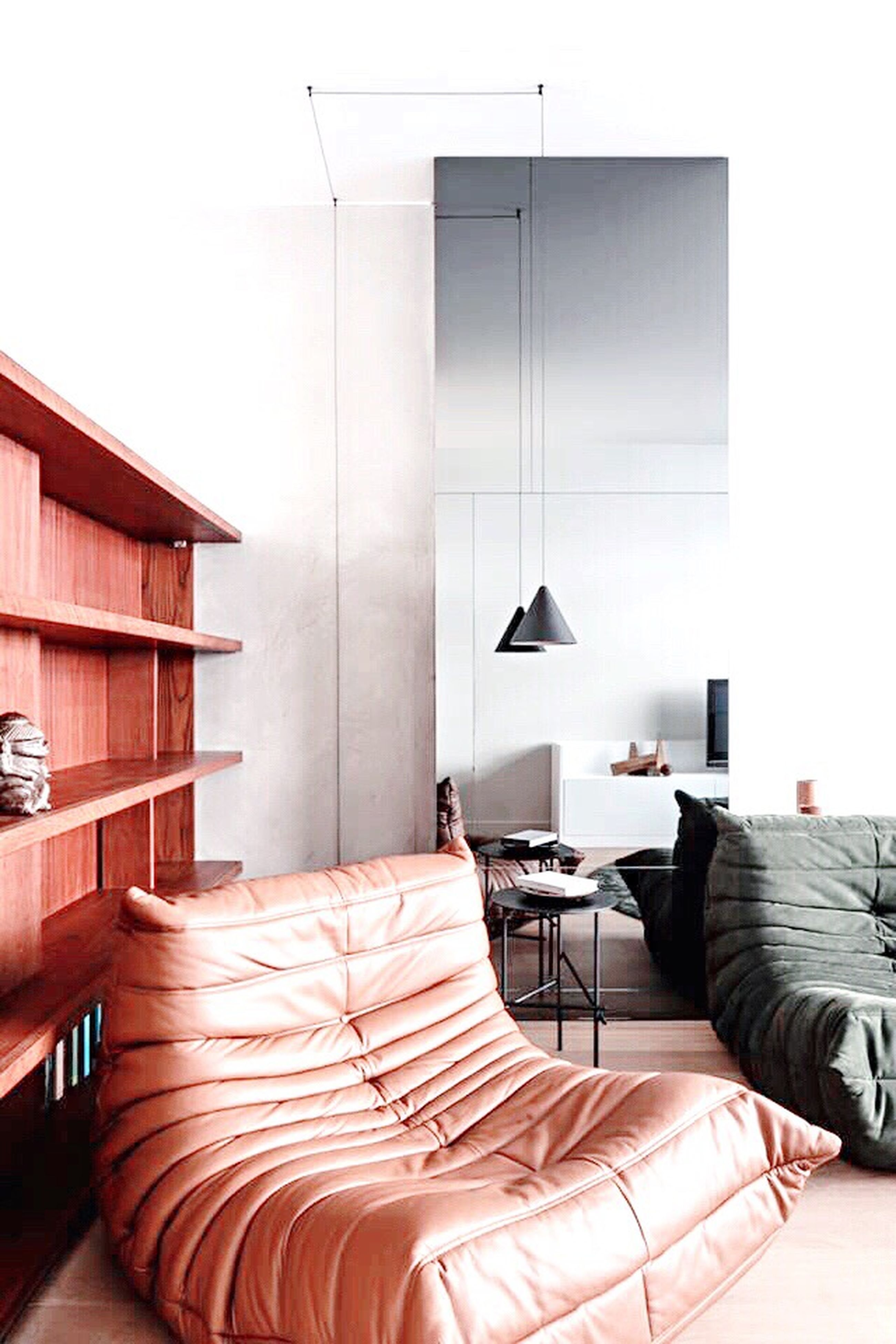 indoors, absence, chair, home showcase interior, house, empty, architecture, built structure, home interior, sofa, comfortable, modern, order, red