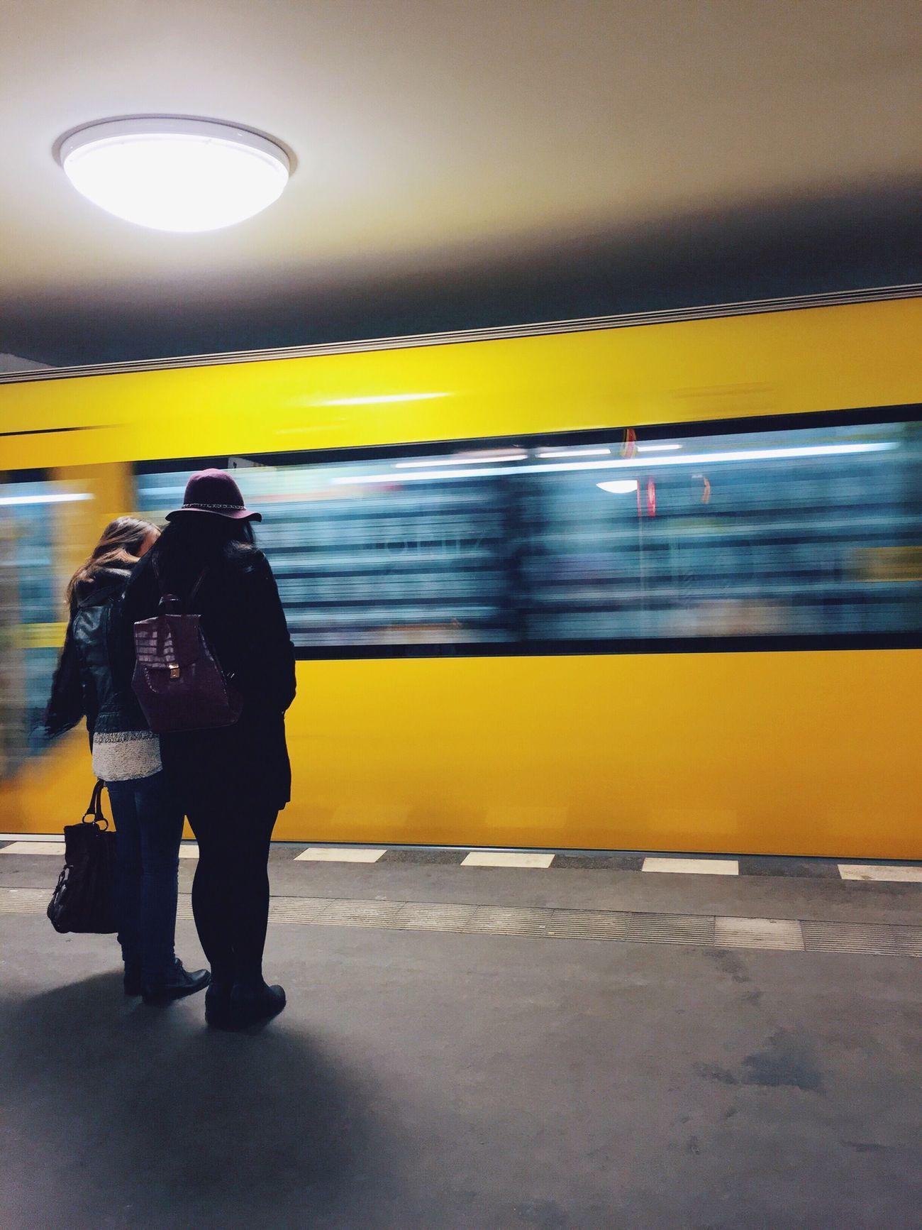 Berlin Subway Subway Portraits Ubahn