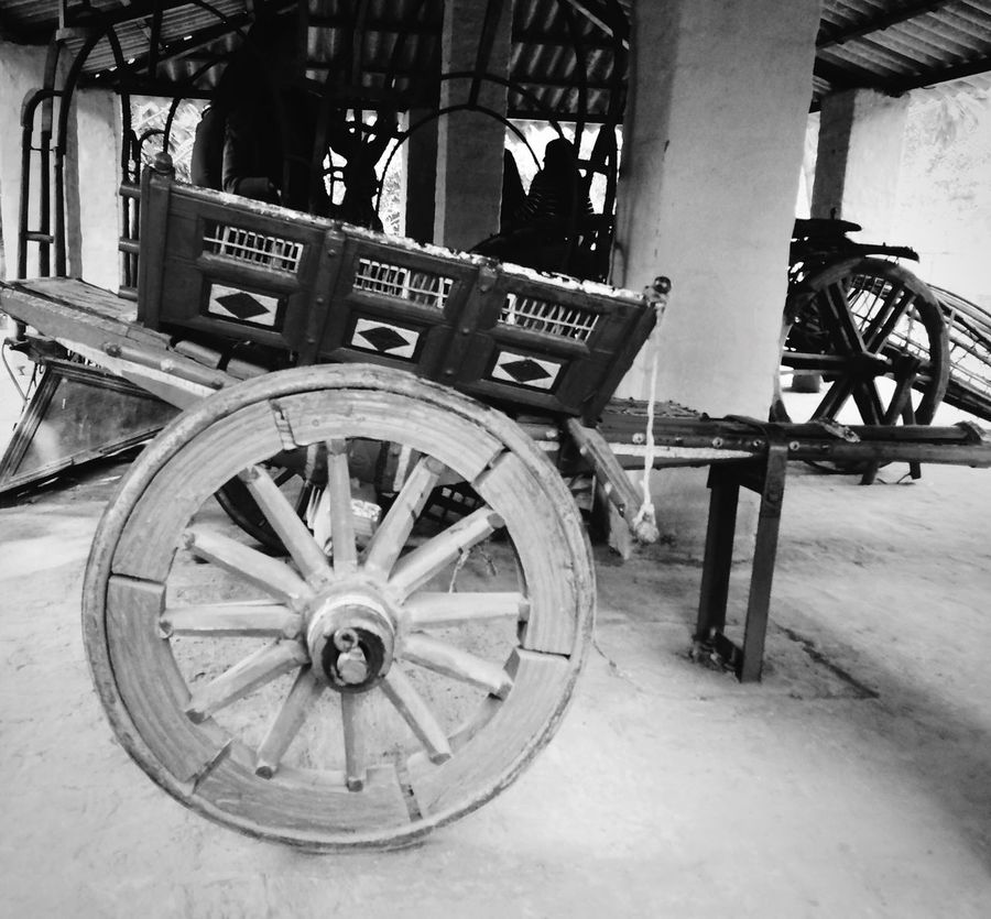 Transportation Mode Of Transport Wood - Material Land Vehicle Travel Wheel Old-fashioned Outdoors Day History Wagon Wheel Cart No People Horse Cart Carriage Close-up Indiapictures Eye4photography  Popular Photos Taking Photos Village Photography EyeEm Best Shots EyeEm Best Shots - Black + White Eye4black&white  Village Paradise