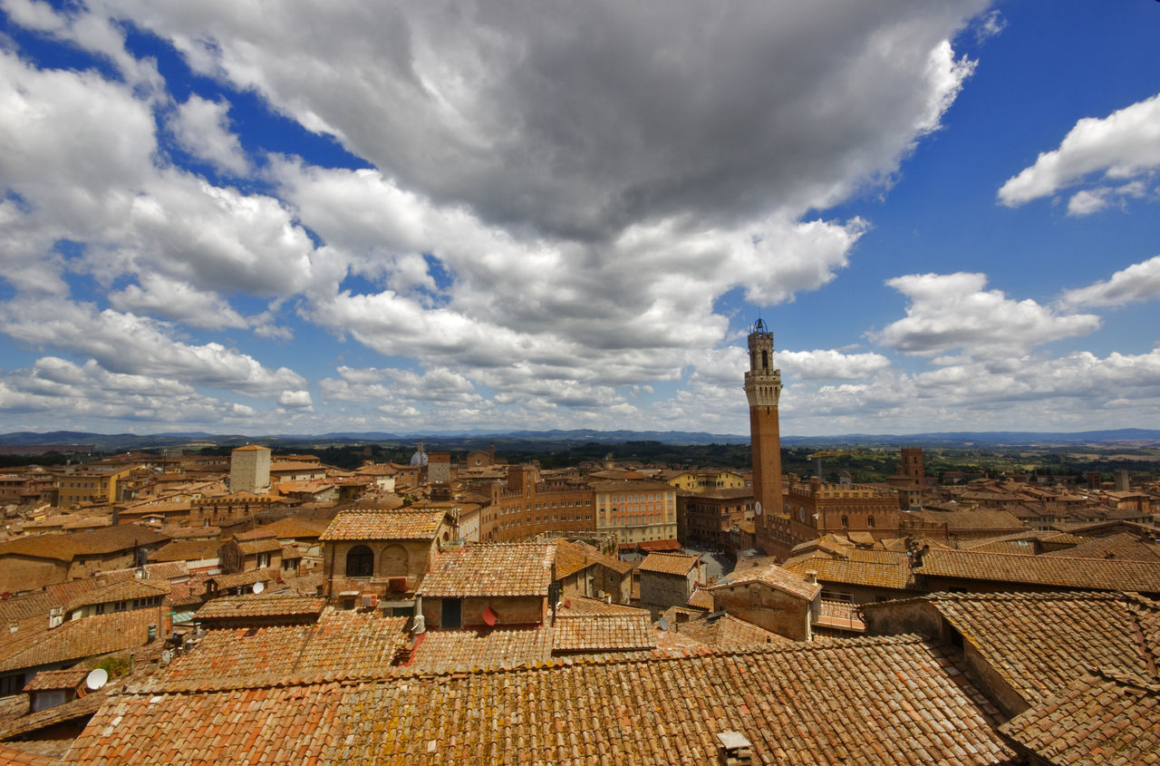 Siena Cloud - Sky Sky Architecture Travel Destinations Day Sigma10-20 Canon550D Siena Toscana Toscany Panorama Italy