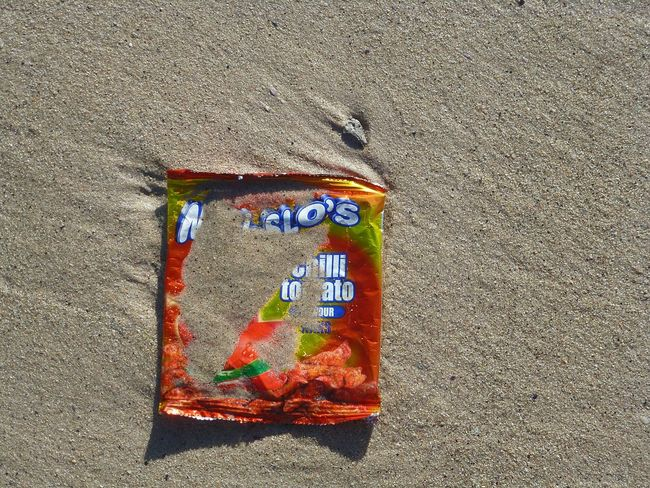 Showing Imperfection Thats Africa, Baby Sand Beachphotography Trashed Trash At The Beach Hout Bay Beach Colour Of Life