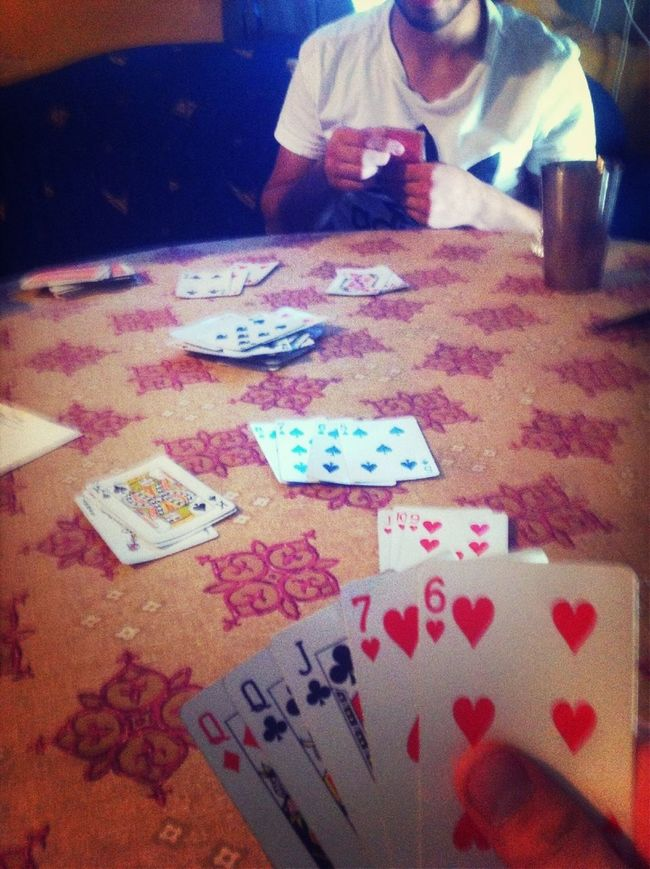 Cards With The Boys