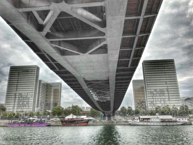 BnF / National Library Of France La Seine Paris Bridge Tower