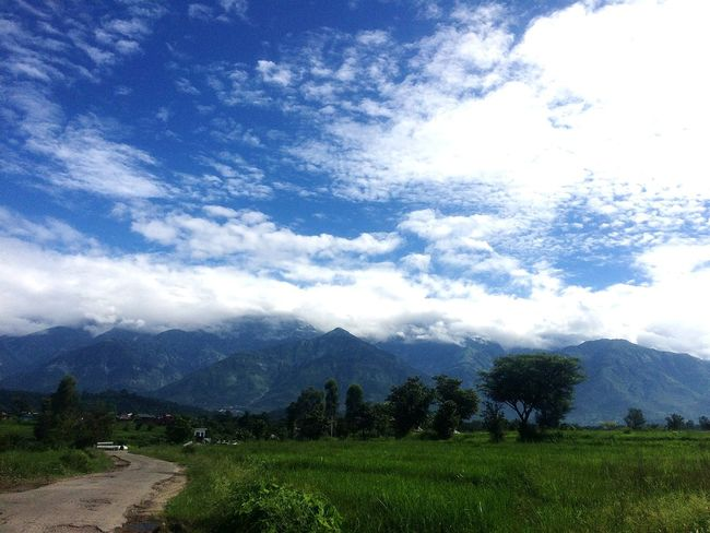 Mountains And Sky Natural Pattern Scenics EyeEm Nature Lover Eye4photography  Landscape Green Green Green!  Cropsfield