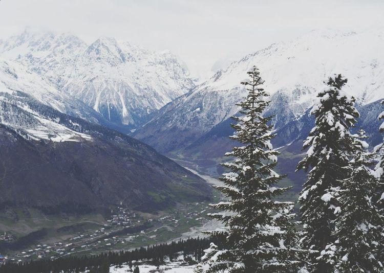 Winter Svaneti Georgia Mestia Mountains Naturelovers Mountain_collection Snow Mountain
