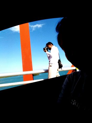 MeinAutomoment Capturedfromacar Thephotographer Bridge View Tacloban, Philippines