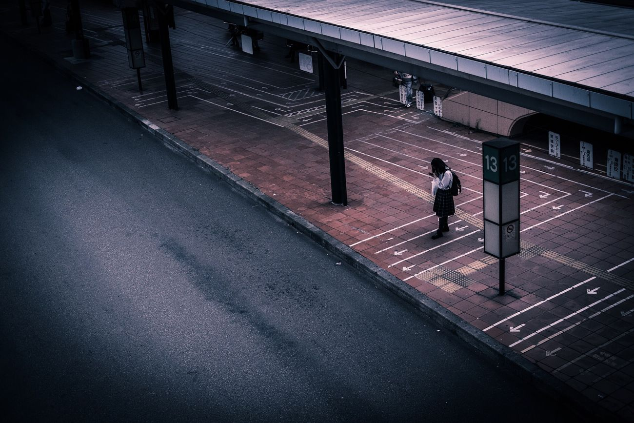 仙台 仙台雑景 バス停 Busstop