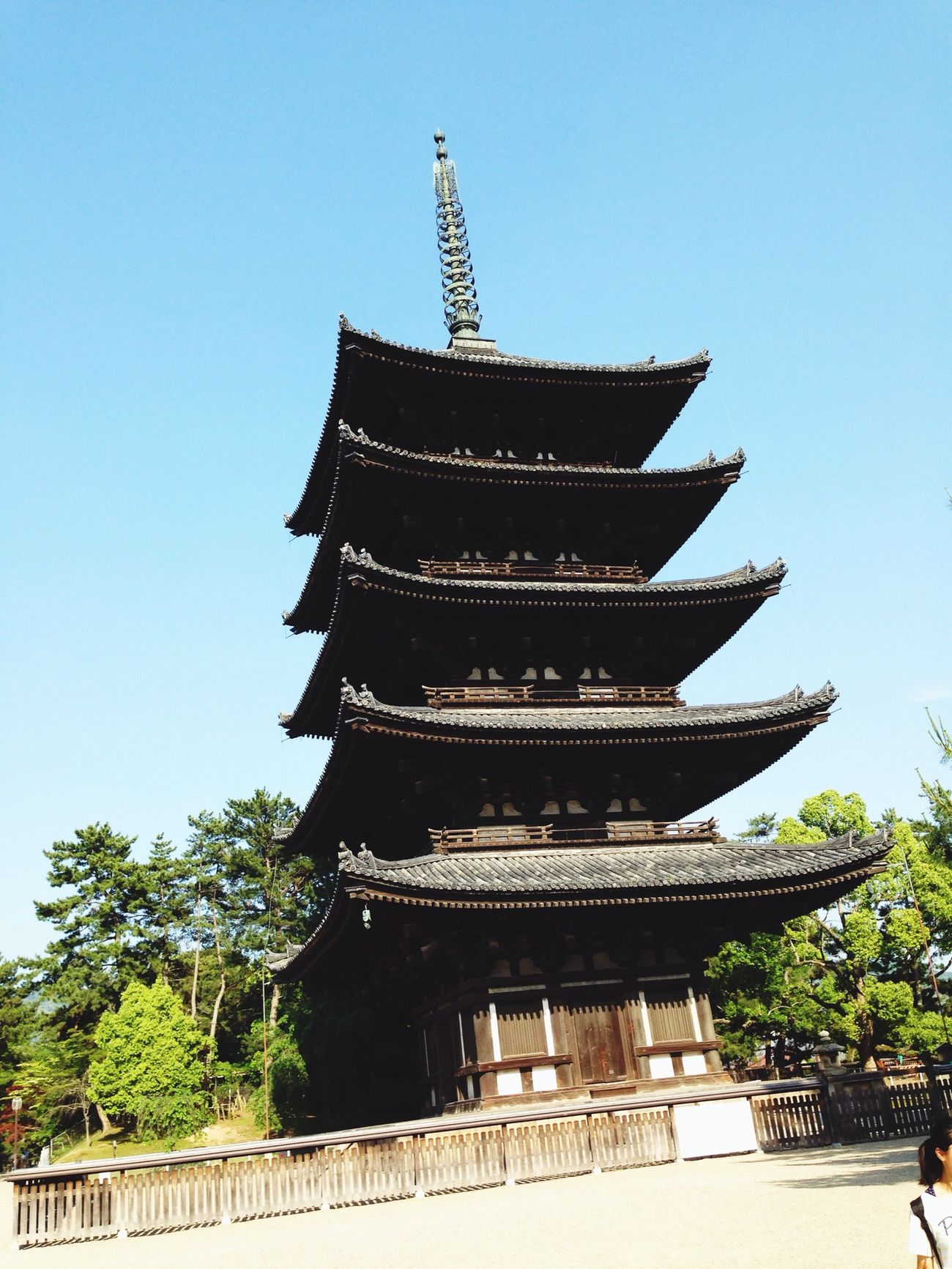 Hello World Temple Japan Tower