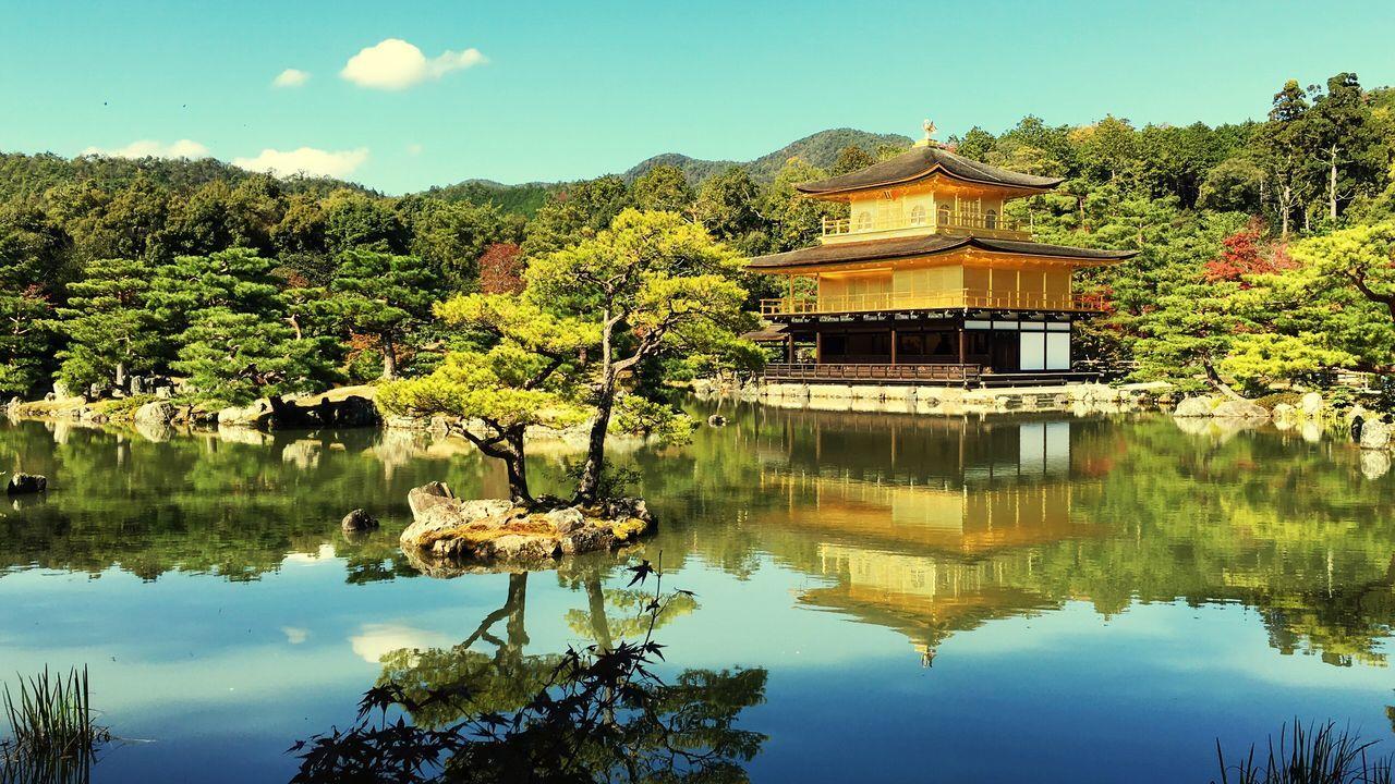 Golden Temple Temple Japan Buddhist Temple