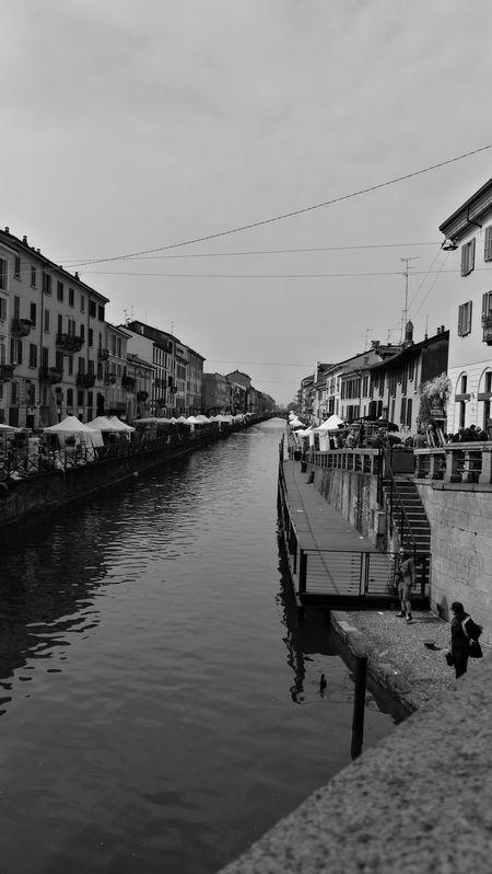Water City Harbor Day Navigli Naviglio Milano Navigli Milano