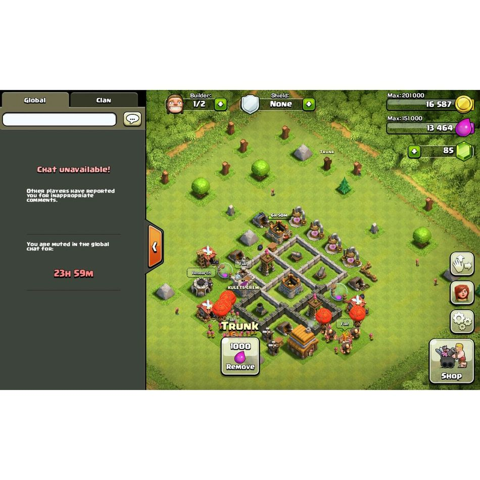 I haven't done anything wrong 😒 Clashofclans Reported