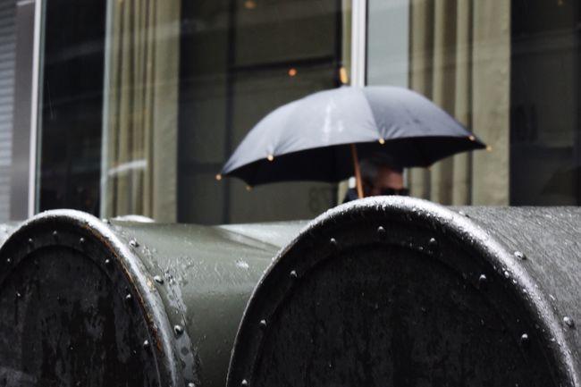 Around the corner Streetphoto Street Photography Umbrella Outdoors Urban City