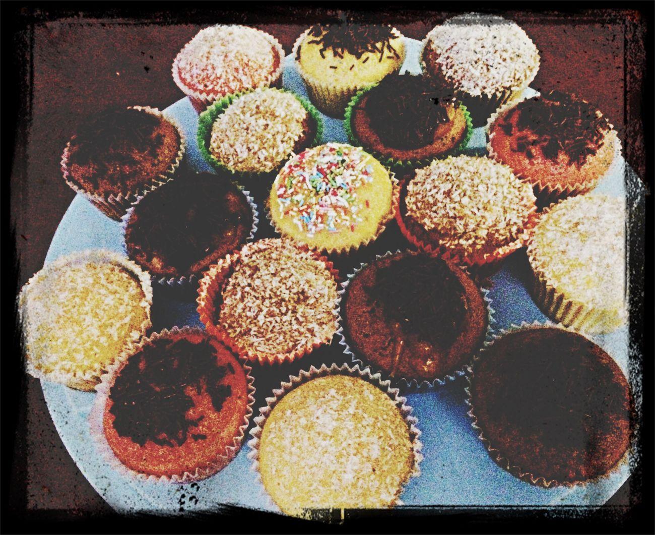 Sunset Silhouettes prova di compleanno.....cupcake