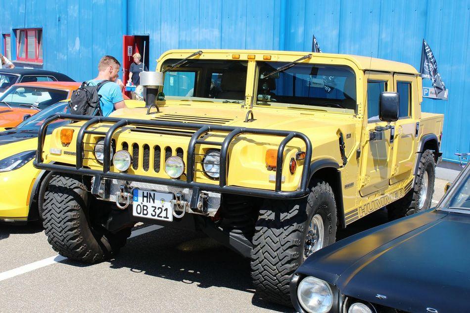Outdoors Yellow Germany🇩🇪 Cars US Car US Cars Hummer Hummer H1 Sinsheim Auto & Technik Museum