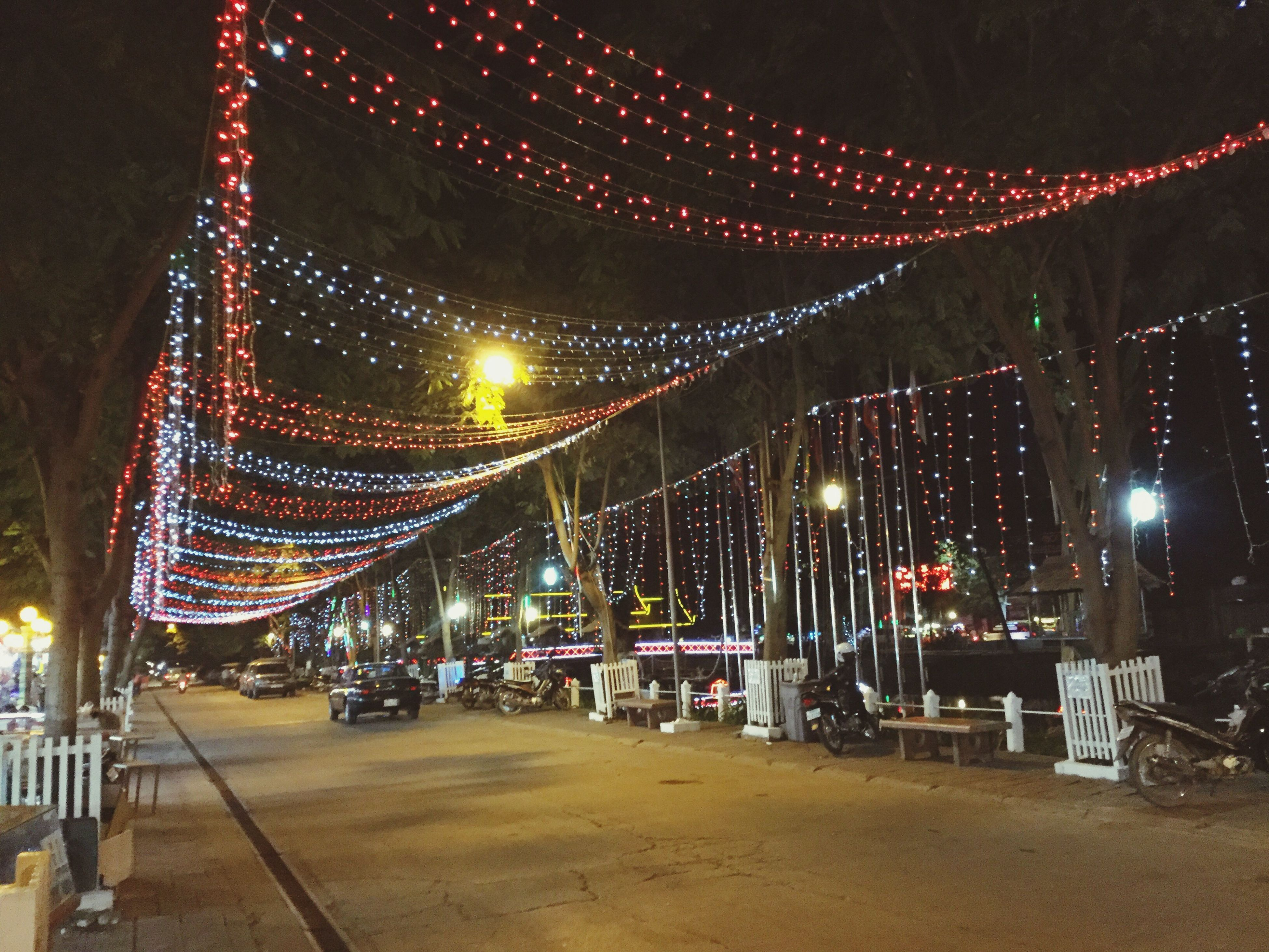 illuminated, night, no people, christmas lights, city, outdoors, christmas, sky, christmas decoration, architecture