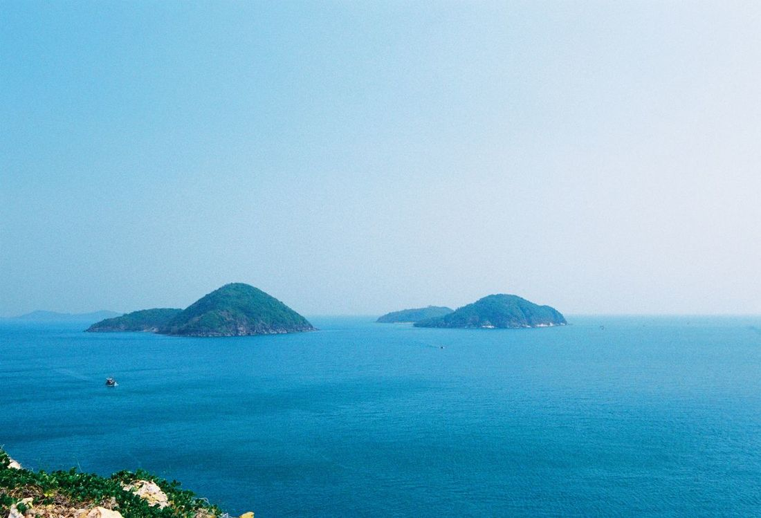 A great trip in Nam Du Island, Vietnam Beauty In Nature Blue Calm Clear Sky Coastline Day Film Photography Filmaddict Filmcamera Filmisnotdead Island Mountain Namdu NamDu Island Nature Scenics Sea Seascape Summer Tourism Tranquility Tranquility Traveller Vacations Vietnam