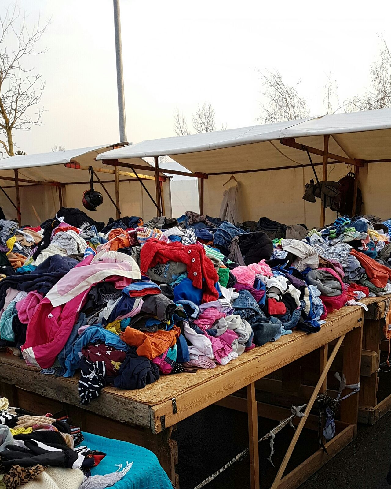 Retail  For Sale Second Hand Old Clothing Clothing Brocante Flea Market Flea Markets Fleamarket Background Cover Apparel Apparel Industry