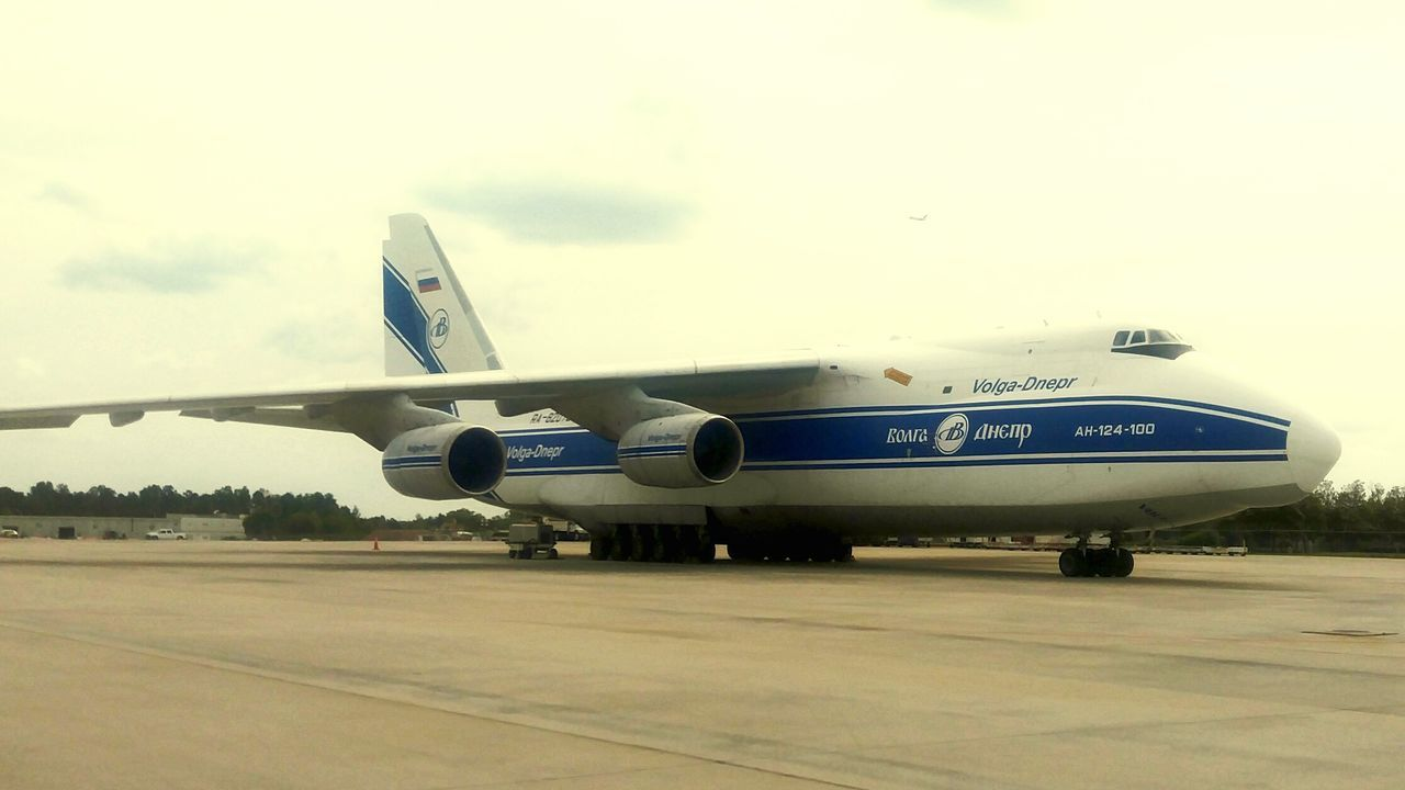 Plane The OO Mission Antonov Plane Transportation Cargo Aircraft