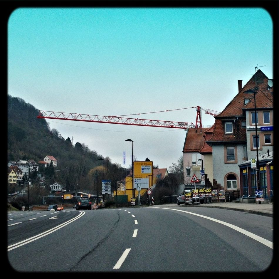 Mosbach Im Auto In The Car