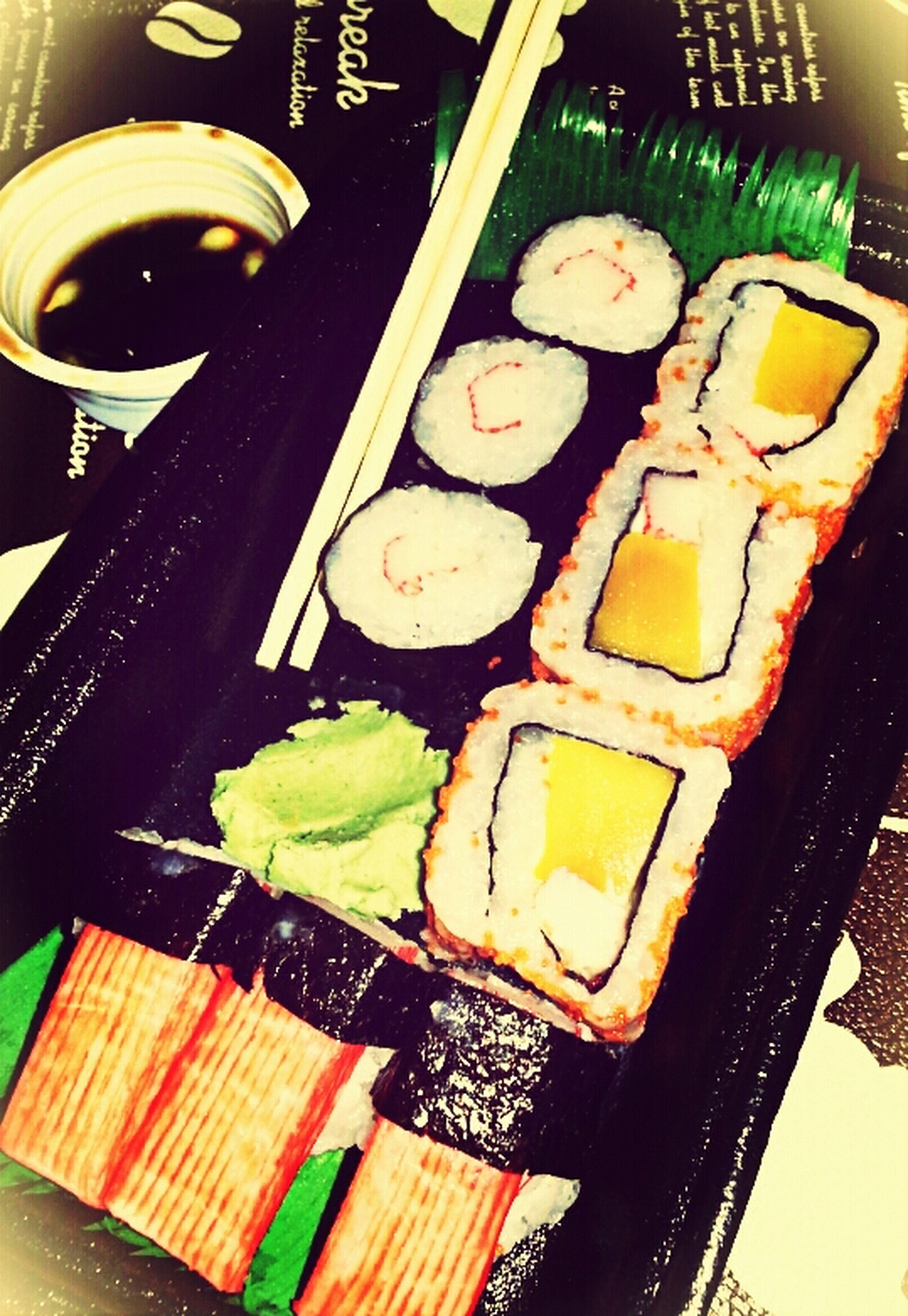 Dinner Time Kani Maki Allaboutme♥ Lets eat bebe love :))