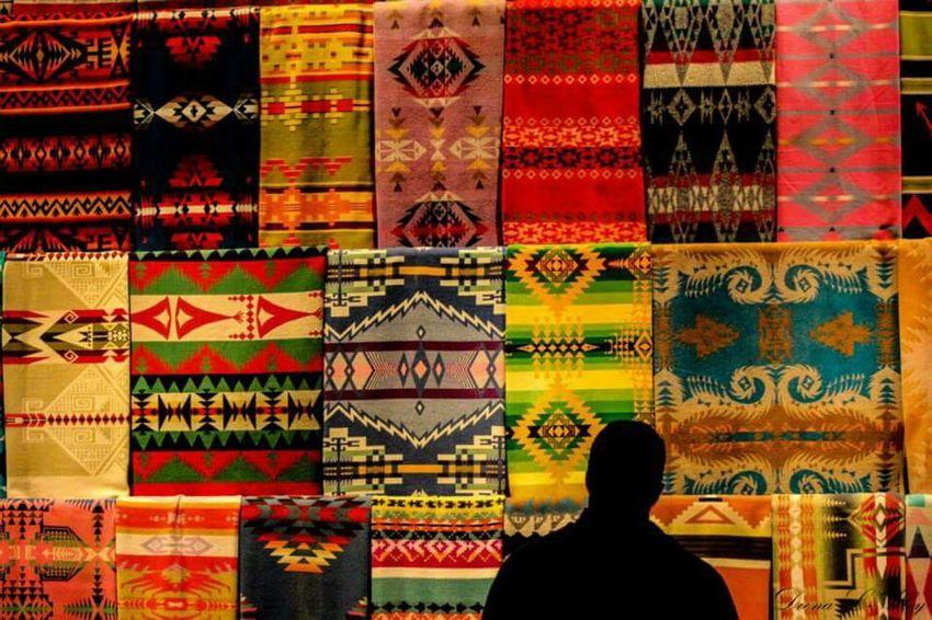 Silhouette Blankets Colorful EyeEm Best Shots