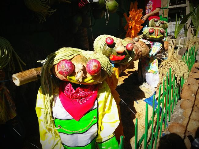 When Simplicity Meets Creativity. Decorative Fruits and Vegetables at Pahiyas Festival 2015 in Lucban Quezon