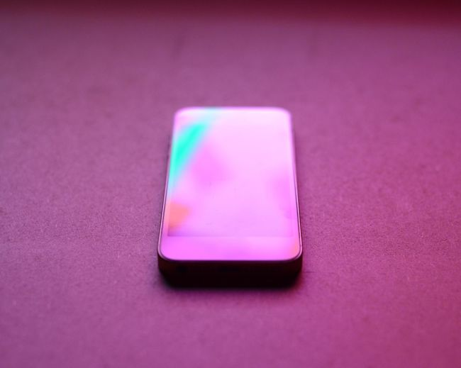 Abstract Close-up Graphic Green Color Mobile Phone Multi Colored No People Pink Pink Color Red Reflection Single Object Vibrant Color