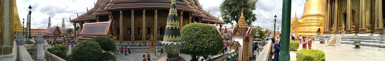 Temple Grand Palace Bangkok Thailand Bangkok Castle