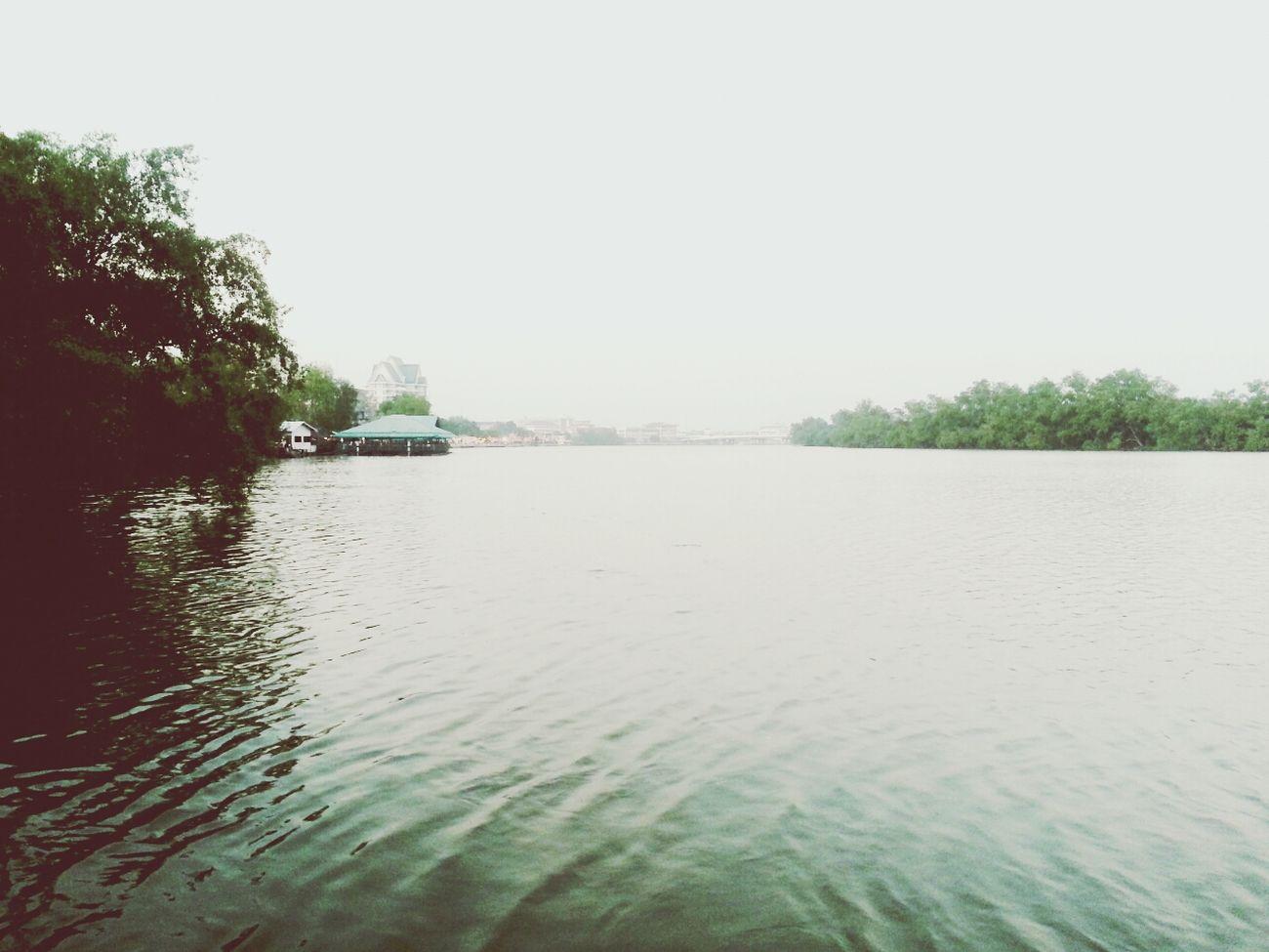 Bang Pakong Riverside Relaxing Landscape Travelphotography Riverside