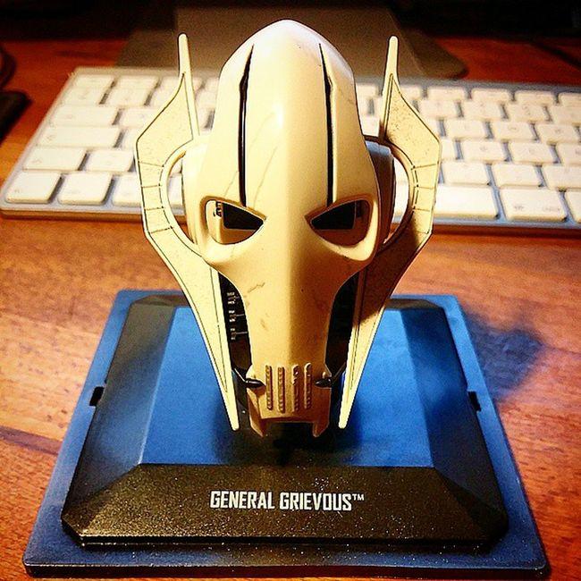 Arrivage du jour : collection casque Starwars : General Grievous Helmet