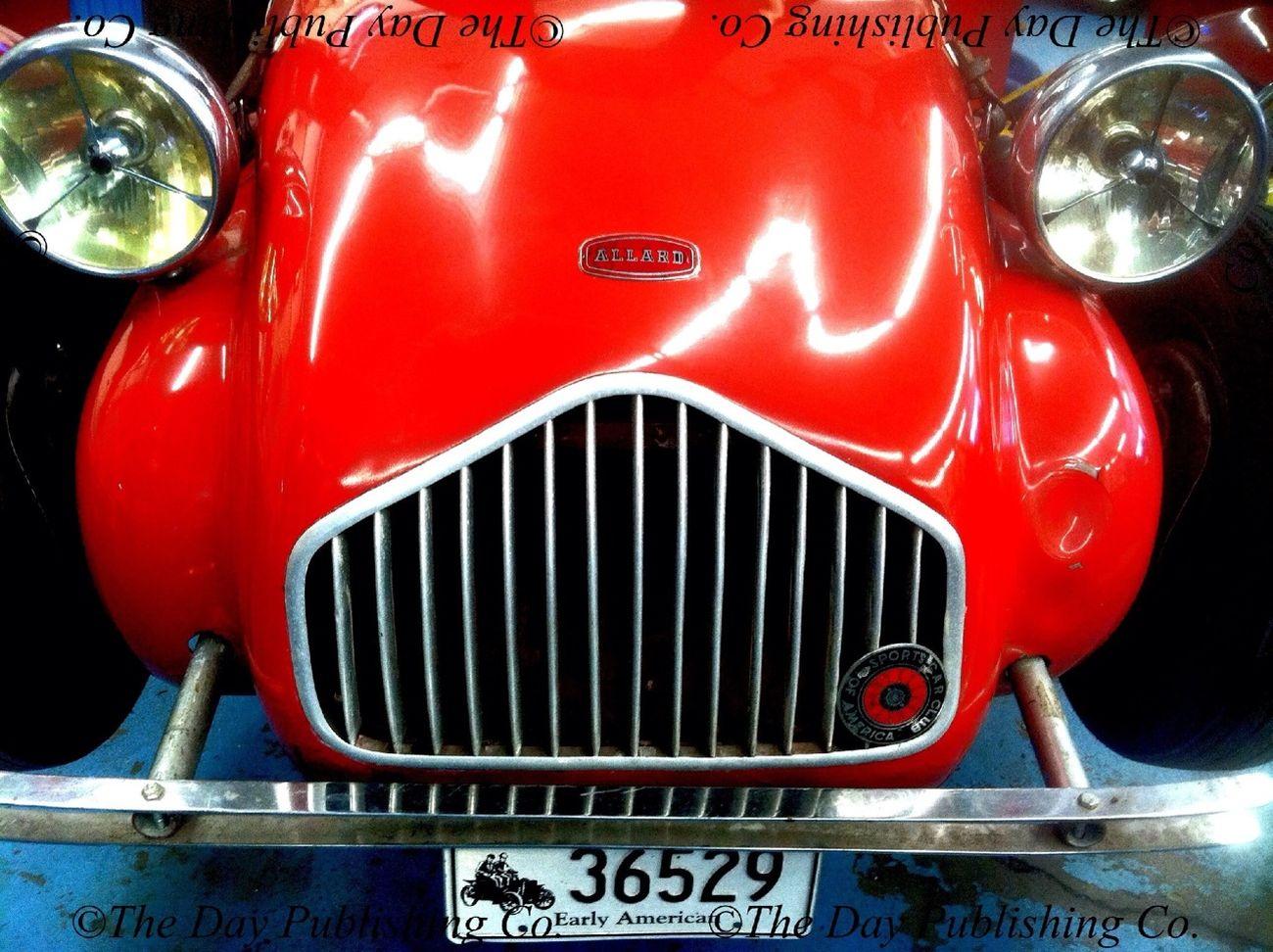 1953 Allard J2X. Vintage Motorcars.