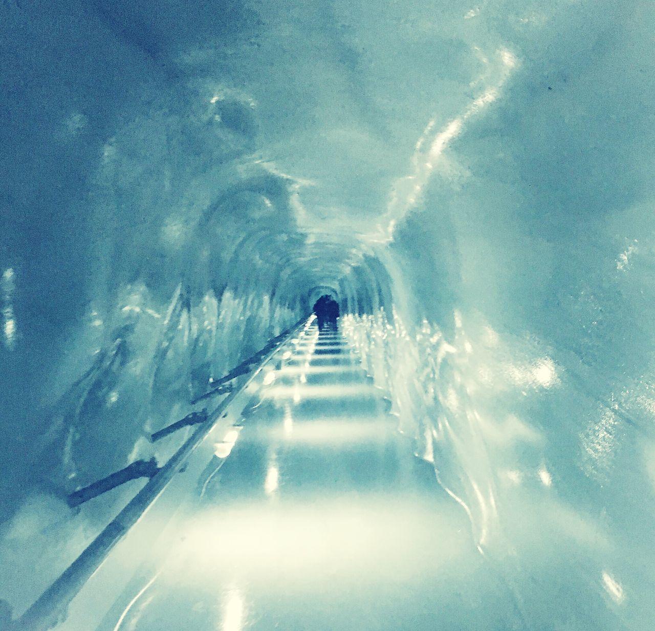 Ice tunnel Ice Glacier Jungfrau