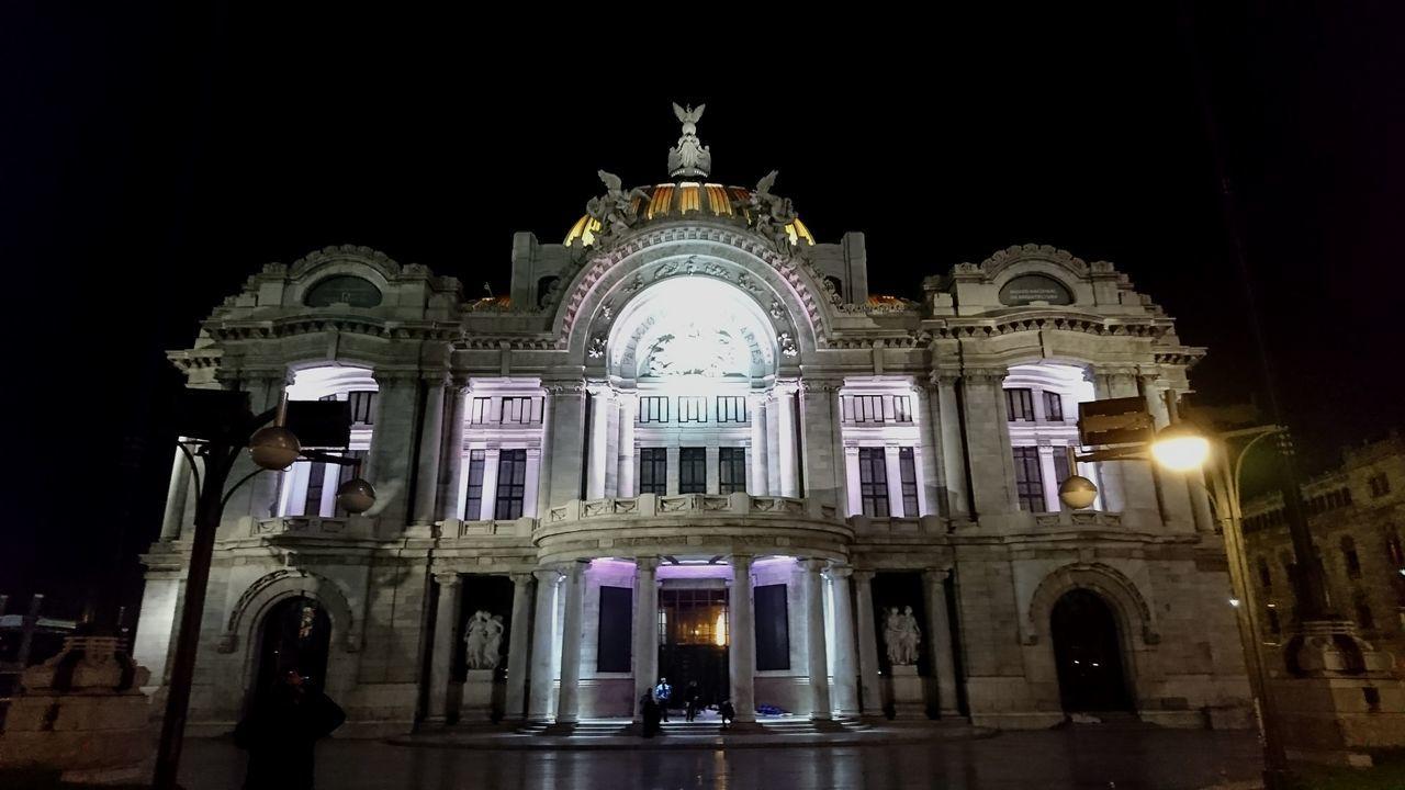 Bellas Artes, México D.F. Architecture