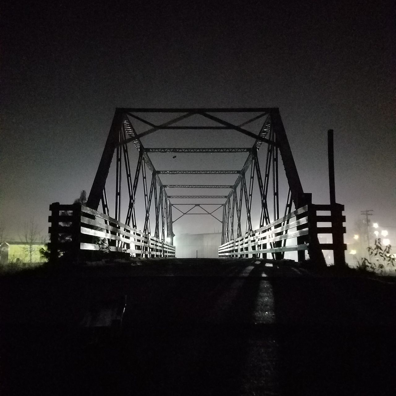 Richardson Bridge Bridge - Man Made Structure Outdoors Night Nature West Eugene Urban Photography Darkness And Light