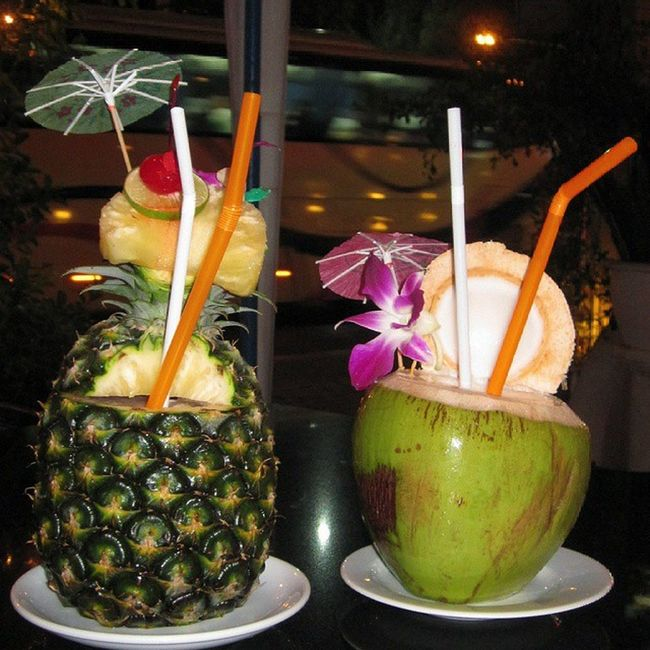 TBT  Thailand Pattayablog Piñacolada Maitai Drinks Summer Fancy @bjorgi
