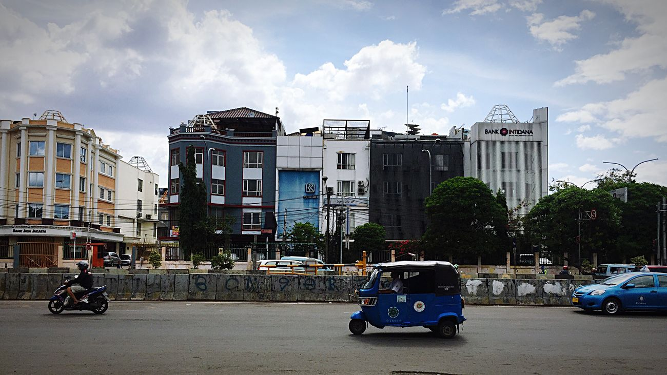 Street Bajaj Jakarta Bajaj City EyeEmNewHere